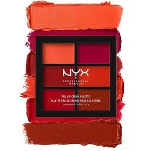 NIP NYX PROFESSIONAL Pro Lip Cream Palette Reds
